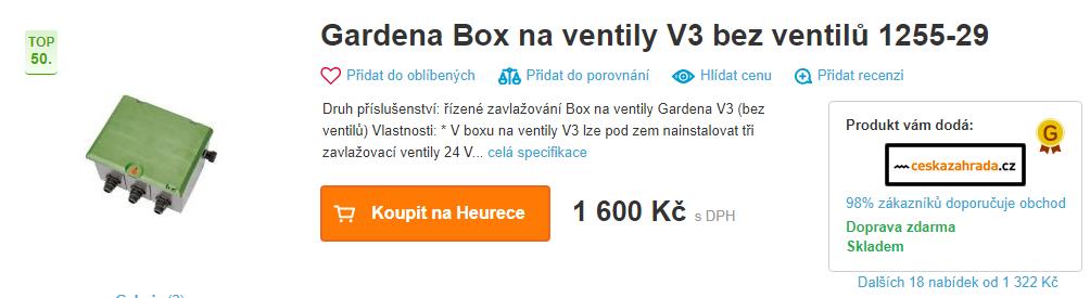 2019-03-16 10_36_45-Gardena Box na ventily V3 bez ventilů 1255-29 od 1 322 Kč - Heureka.cz - Opera